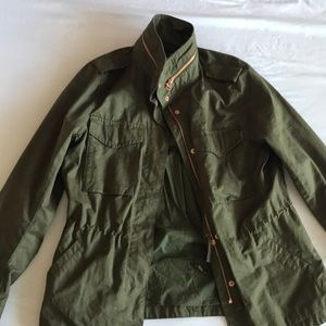 Size 10 green H&M cargo jacket